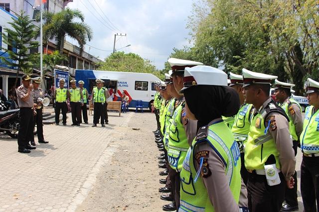 Kapolresta Banda Aceh Pimpin Apel Sat Lantas