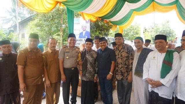 Kapolresta Hadiri Peringatan Maulid Nabi Muhammad SAW di Ulee Kareng
