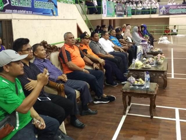Polresta Banda Aceh Hadiri Pembukaan Turnament Jeumpa Puteh Basket Ball Cup 2019