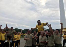 TNI/POLRI DAN PEMKO BANDA ACEH LAKUKAN OLAHRAGA BERSAMA DI LAPANGAN BLANG PADANG