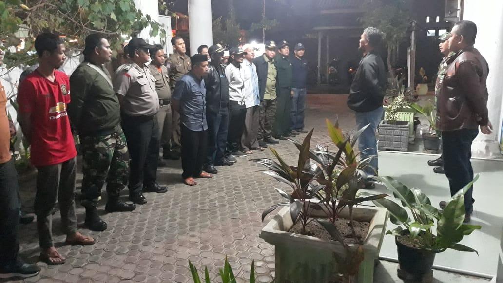 Polsek Syiah Kuala Dan Polsek Ulee Kareng Giatkan Patroli Malam Minggu Polresta Banda Aceh