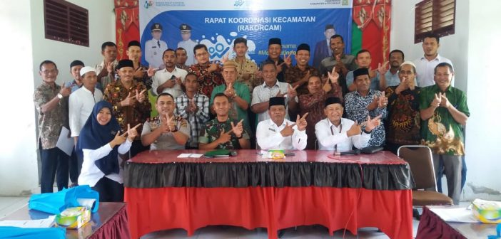 Para Kapolsek Jajaran Polresta Banda Aceh Ikuti Rakorcam Sensus Penduduk Online 2020