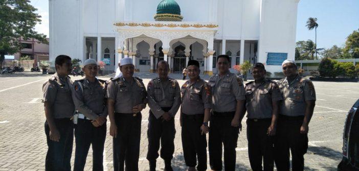 Personel Polresta Banda Aceh, Shalat Jumat di Masjid Syuhada Lamgugob Banda Aceh