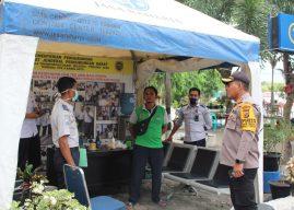 Kapolresta Banda Aceh Cek Pos Pelayanan Dishub di Terminal Batoh