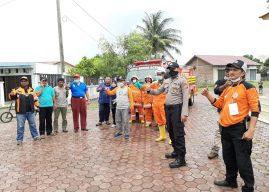 Polresta Banda Aceh Serta Tim Gabungan Gugus Tugas Lakukan Penyemprotan Disinfektan