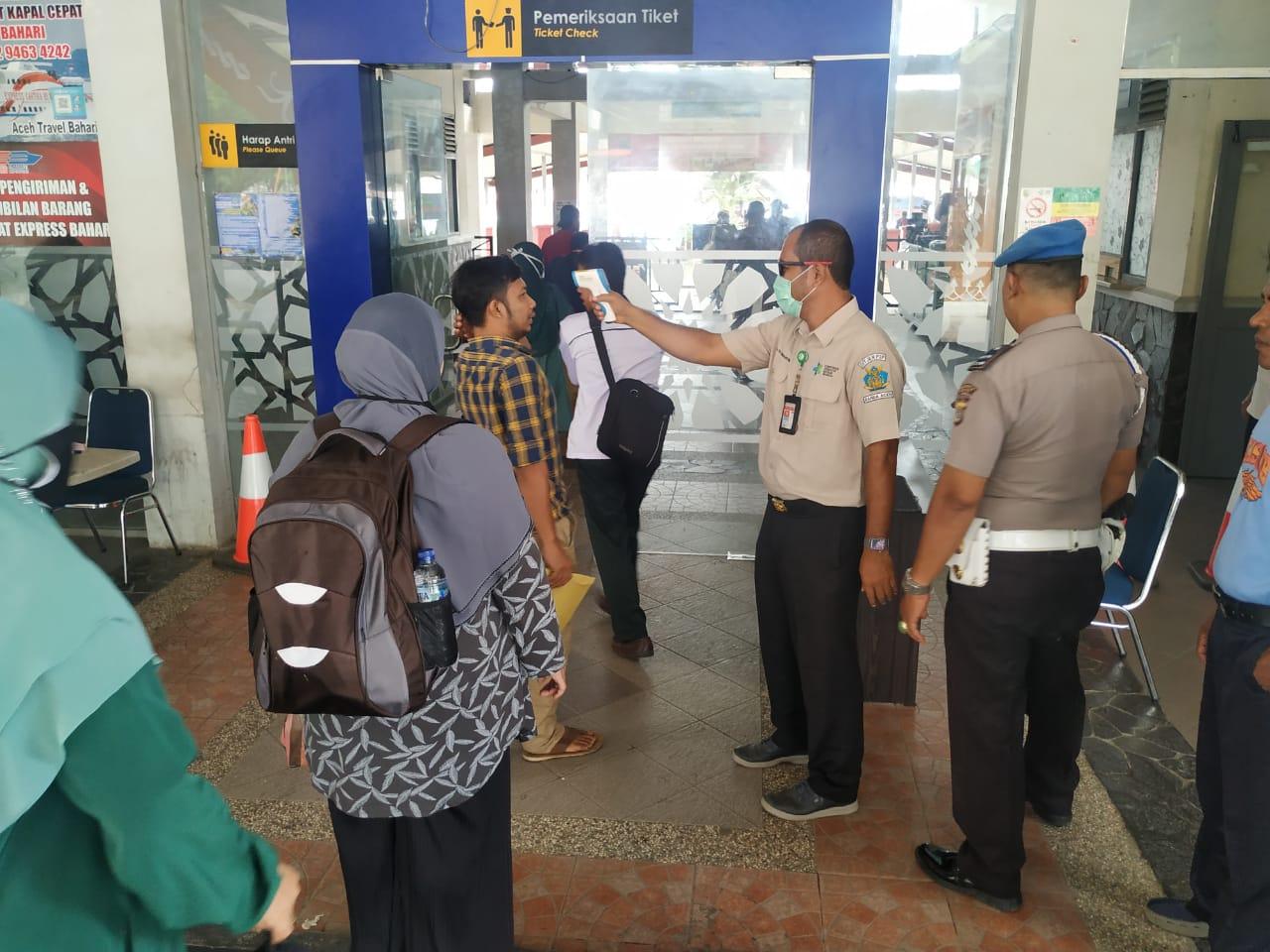 Gugus Tugas Kota Banda Aceh Melakukan Serangkaian Pencegahan Covid 19 Polresta Banda Aceh
