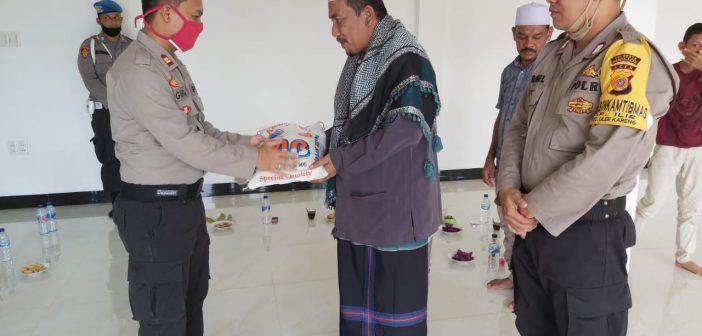 Kapolsek Ulee Kareng Silaturrahmi dengan Pimpinan Dayah Darul Amin Al Waliyah