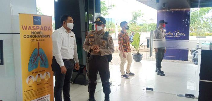 Polresta Banda Aceh Pantau Pusat Perbelanjaan Dalam Penerapan New Normal
