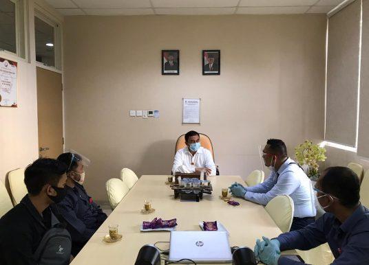 Satgas Komite PC PEN Polresta Banda Aceh Lakukan Giat Audiensi Pada Dua Rumah Sakit di Banda Aceh