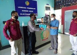 Personel Bin Kamsa Sat Binmas Polresta Banda Aceh Lakukan Koordinasi, Pembinaan dan Pengawasan Polsus di LPKA