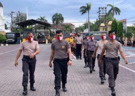 Tingkatkan Imunitas Tubuh Ditengah Pandemi Covid-19, Personel Polresta Banda Aceh Giatkan Olahraga