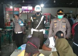 Tim Peucrok 19 Terus Gencarkan Razia Masker di Dua Lokasi Dalam Wilkum Polresta Banda Aceh