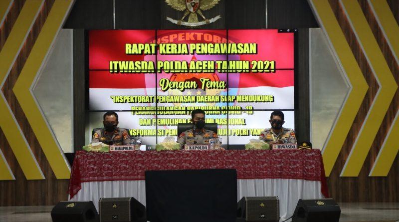 KAPOLDA ACEH BUKA RAKERWAS TAHUN 2021