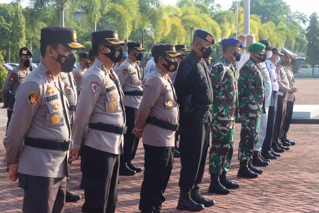 Kapolresta Banda Aceh Ikuti Apel Operasi Keselamatan 2021 Polresta Banda Aceh