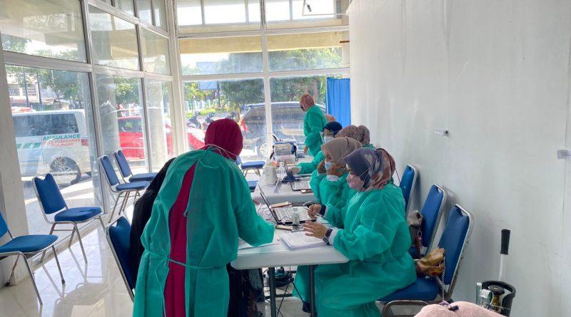 Polresta Banda Aceh Gelar Vaksinasi Gratis Untuk Masyarakat di Gerai Vaksin Presisi