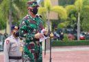 Jelang Kunjungan Presiden RI Ke Aceh , Pangdam IM Pimpin Apel Gelar Pasukan Di Polda Aceh